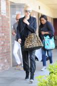 Gwen Stefani is seen on April 30 2014 in Los Angeles California