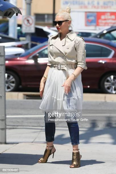 Gwen Stefani is seen on June 04 2017 in Los Angeles California