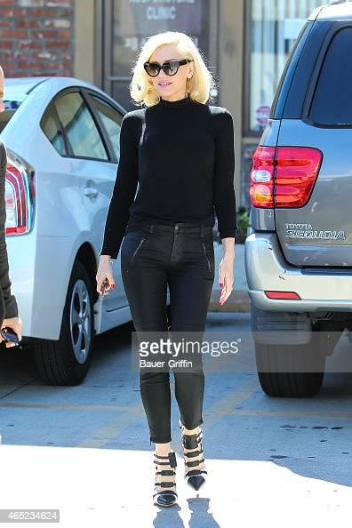 Gwen Stefani is seen on March 04 2015 in Los Angeles California