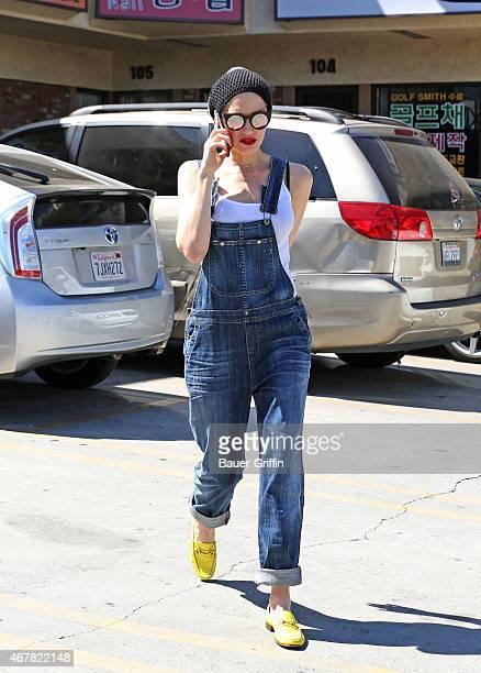 Gwen Stefani is seen on March 27 2015 in Los Angeles California