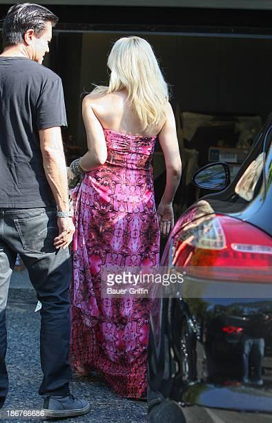 Gwen Stefani is seen on November 03 2013 in Los Angeles California