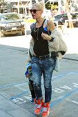 Gwen Stefani is seen on November 07 2015 in Los Angeles California