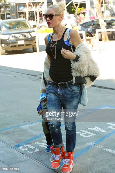 Gwen Stefani is seen on November 07 2015 in Los Angeles California