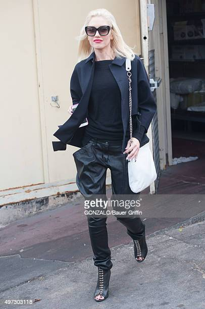 Gwen Stefani is seen on November 15 2015 in Los Angeles California
