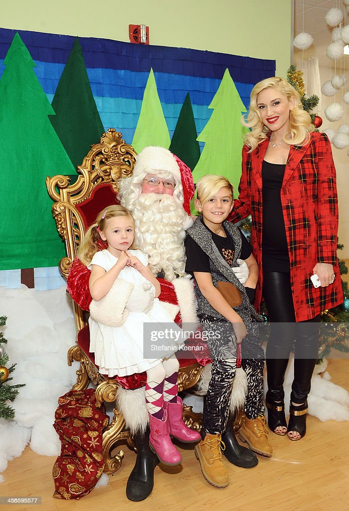 <a gi-track='captionPersonalityLinkClicked' href=/galleries/search?phrase=Gwen+Stefani&family=editorial&specificpeople=156423 ng-click='$event.stopPropagation()'>Gwen Stefani</a>, Kingston Stefani and Stella Stefani attend the Third Annual Baby2Baby Holiday Party presented by The Honest Company on December 14, 2013 in Los Angeles, California.