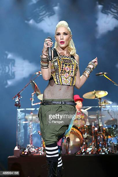 Gwen Stefani of No Doubt performs on day 1 of Kaaboo on September 18 2015 in Del Mar California
