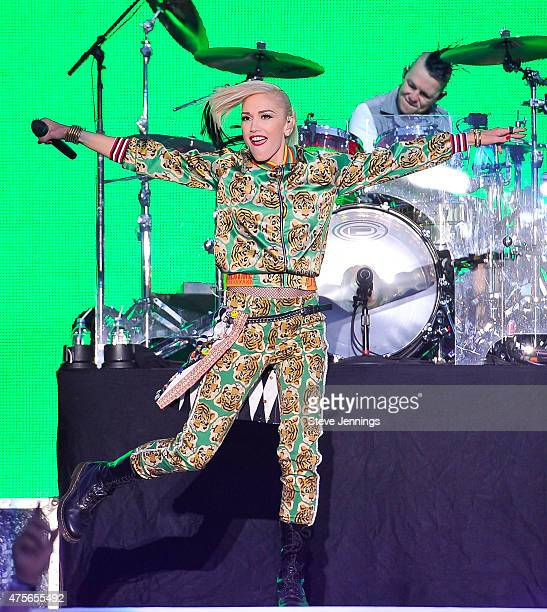 Gwen Stefani of No Doubt performs on Day 3 of the 3rd Annual BottleRock Napa Valley Music Festival at Napa Valley Expo on May 31 2015 in Napa...
