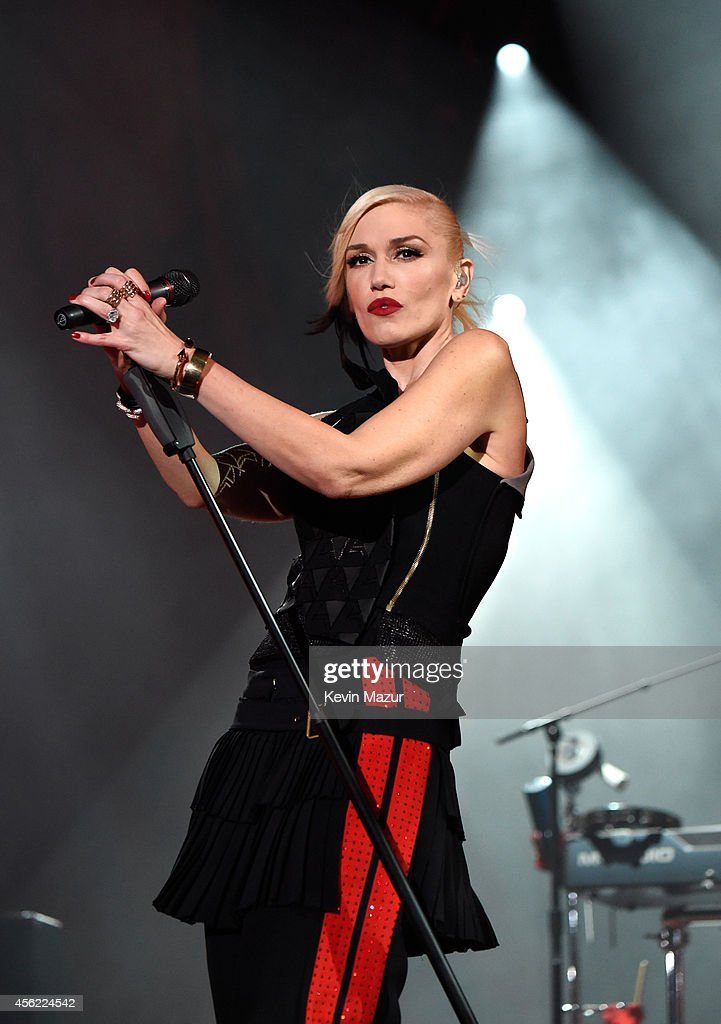 Gwen Stefani of No Doubt performs onstage at the 2014 Global Citizen Festival to end extreme poverty by 2030 at Central Park on September 27 2014 in...