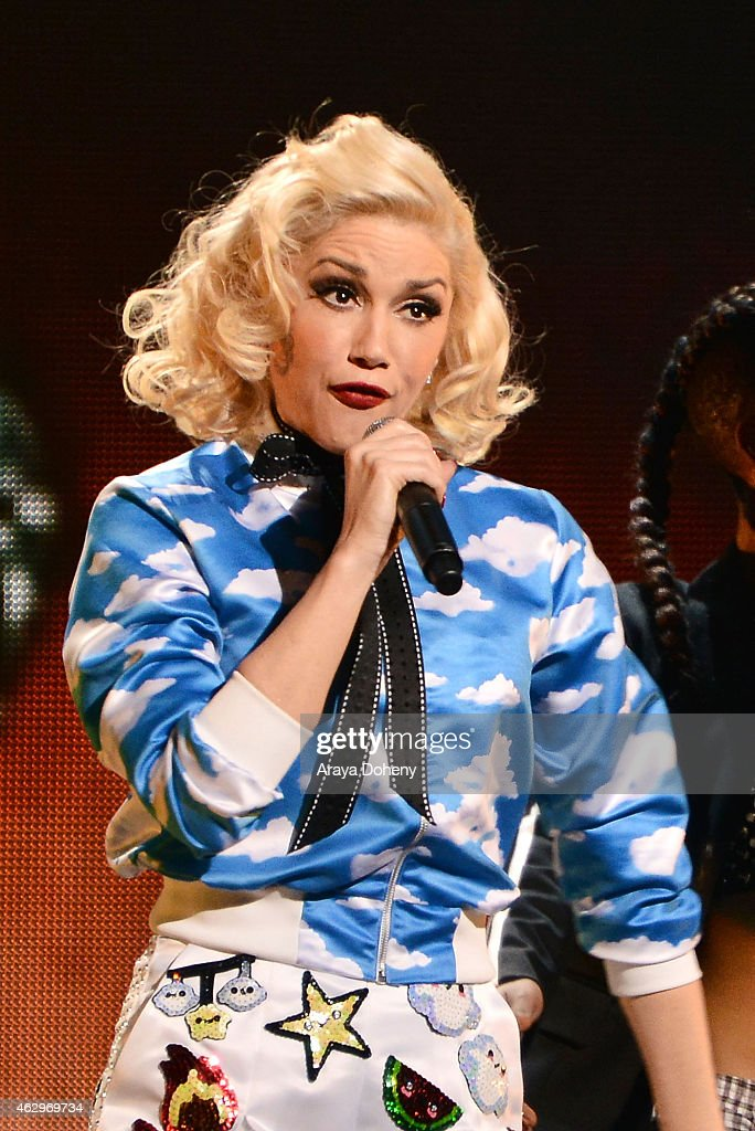 Gwen Stefani performs during MasterCard Priceless Surprises presents Gwen Stefani at Orpheum Theatre on February 7, 2015 in Los Angeles, California.