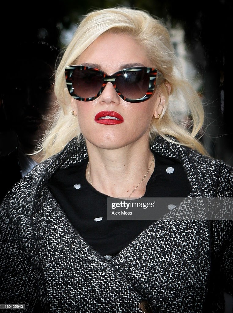 Gwen Stefani sighted in Mayfair on October 26, 2011 in London, England.