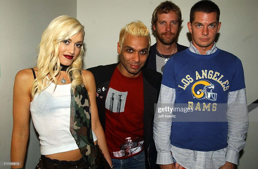 Gwen Stefani Tony Kanal Tom Dumont and Adrian Young of No Doubt