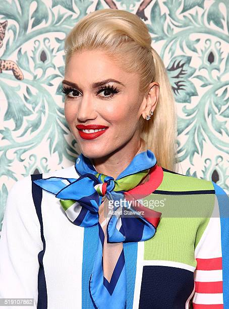 Gwen Stefani visits LinkedIn For Interview With Daniel Roth at LinkedIn Studios on March 31 2016 in New York City
