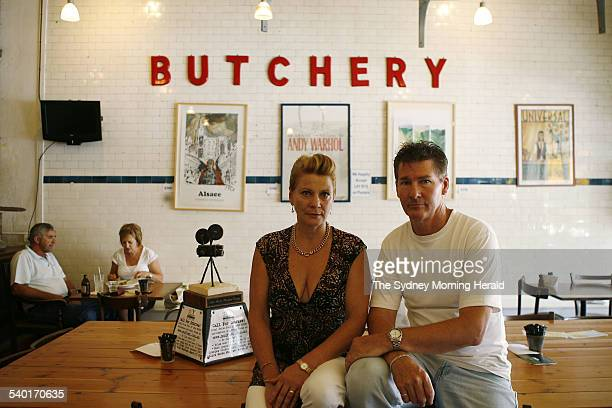 Gwenda O'Neill who with her husband James owns and runs The Butcher Shop Cafe in Mudgee and retailer Kent Gilbert who runs the adjacent homewares...