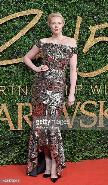 Gwendoline Christie attends the British Fashion Awards 2015 at London Coliseum on November 23 2015 in London England