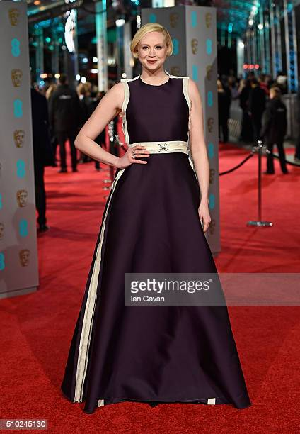 Gwendoline Christie attends the EE British Academy Film Awards at the Royal Opera House on February 14 2016 in London England