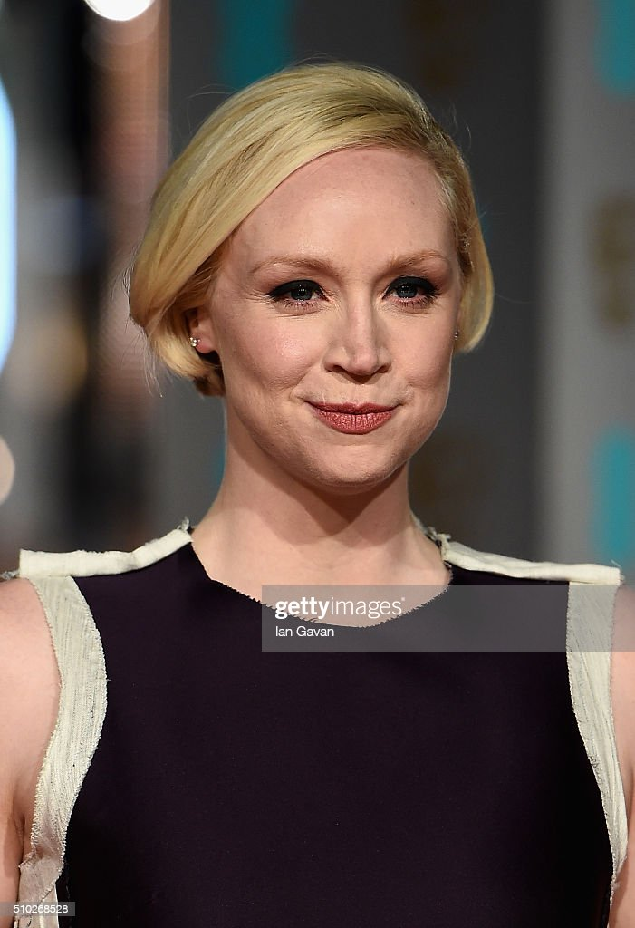 <a gi-track='captionPersonalityLinkClicked' href=/galleries/search?phrase=Gwendoline+Christie&family=editorial&specificpeople=6341361 ng-click='$event.stopPropagation()'>Gwendoline Christie</a> attends the EE British Academy Film Awards at the Royal Opera House on February 14, 2016 in London, England.