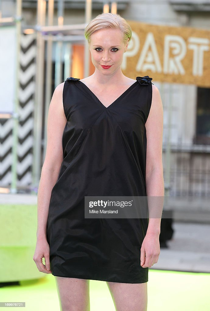Gwendoline Christie attends the preview party for The Royal Academy Of Arts Summer Exhibition 2013 at Royal Academy of Arts on June 5, 2013 in London, England.