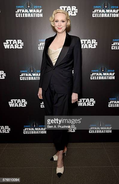 Gwendoline Christie attends the Star Wars Celebration 2016 at ExCel on July 15 2016 in London England