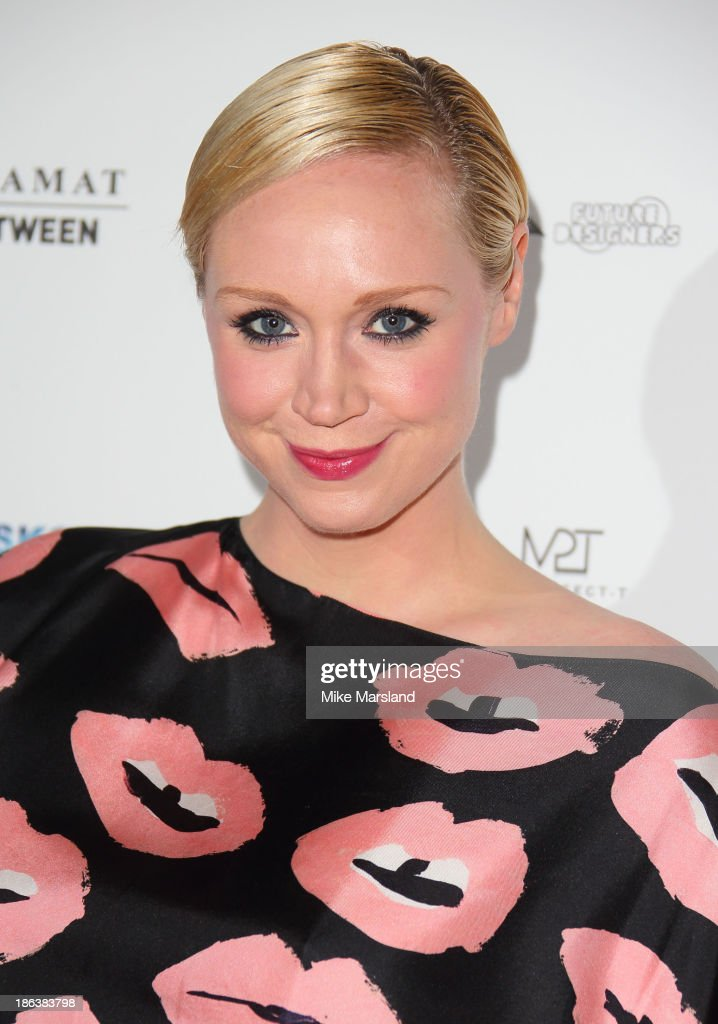 Gwendoline Christie attends the WGSN Global Fahsion awards at Victoria & Albert Museum on October 30, 2013 in London, England.