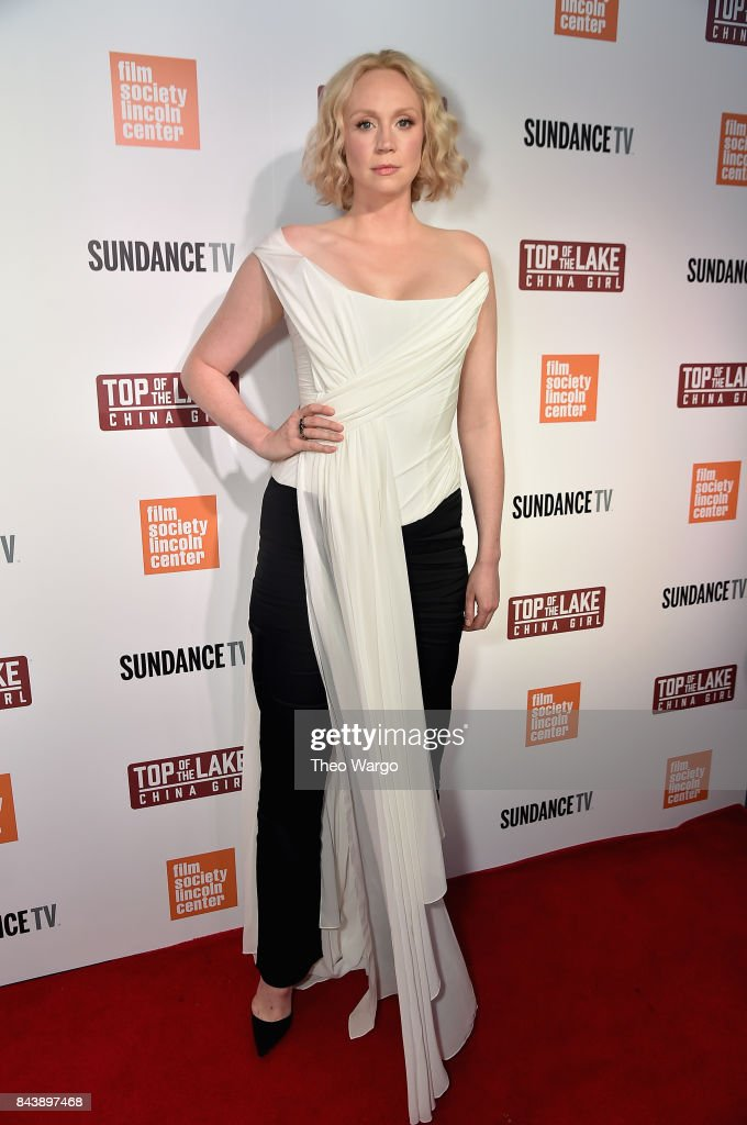 Gwendoline Christie attends 'Top Of The Lake China Girl' Premiere at Walter Reade Theater on September 7, 2017 in New York City.