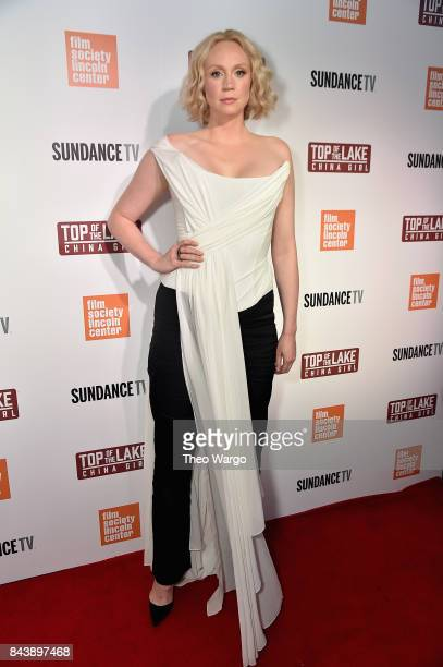 Gwendoline Christie attends 'Top Of The Lake China Girl' Premiere at Walter Reade Theater on September 7 2017 in New York City