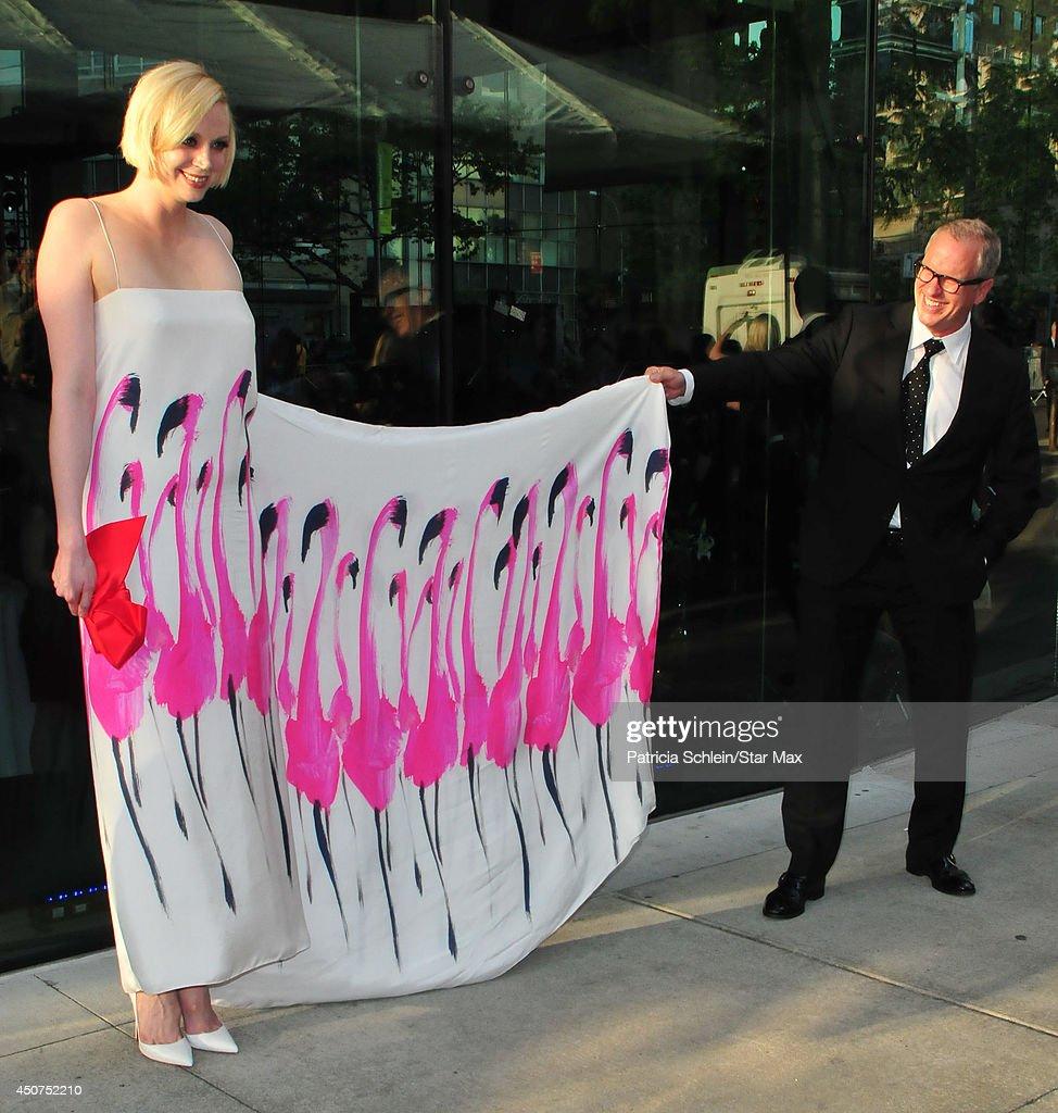 Gwendoline Christie is seen on June 16, 2014 in New York City.