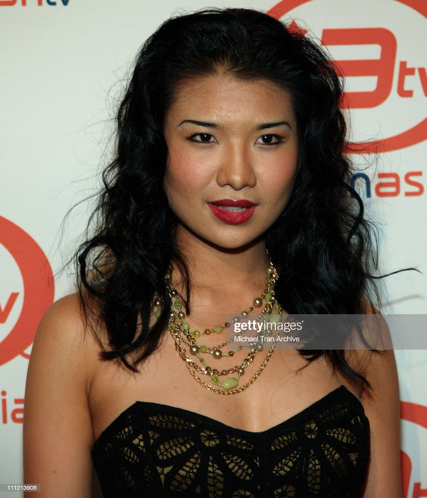 Gwendoline Yeo during ImaginAsian TV and AFI Fest Sway Celebration - Arrivals at AFI Rooftop Village at Arclight Theaters in Los Angeles, California, United States.