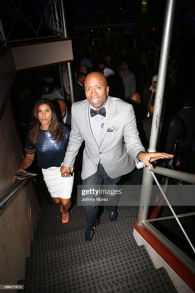 Gwendolyn Smith and <a gi-track='captionPersonalityLinkClicked' href=/galleries/search?phrase=Kenny+Smith&family=editorial&specificpeople=221585 ng-click='$event.stopPropagation()'>Kenny Smith</a> attend the Kenny 'The Jet' Smith all-star party during NBA All-Star Weekend 2014 at Metropolitan Nightclub on February 14, 2014 in New Orleans, Louisiana.