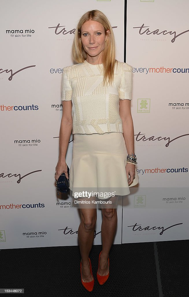 Gwenyth Paltrow attends The Tracy Anderson Method Pregnancy Project at Le Bain At The Standard on October 5, 2012 in New York City.