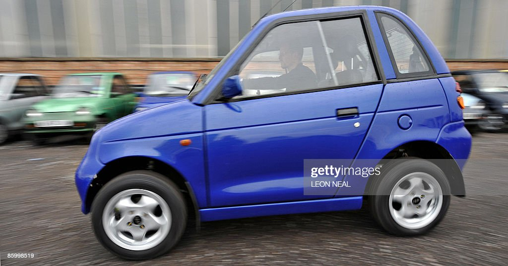 A G Wiz Electric Car Made By The Reva El Pictures Getty Images