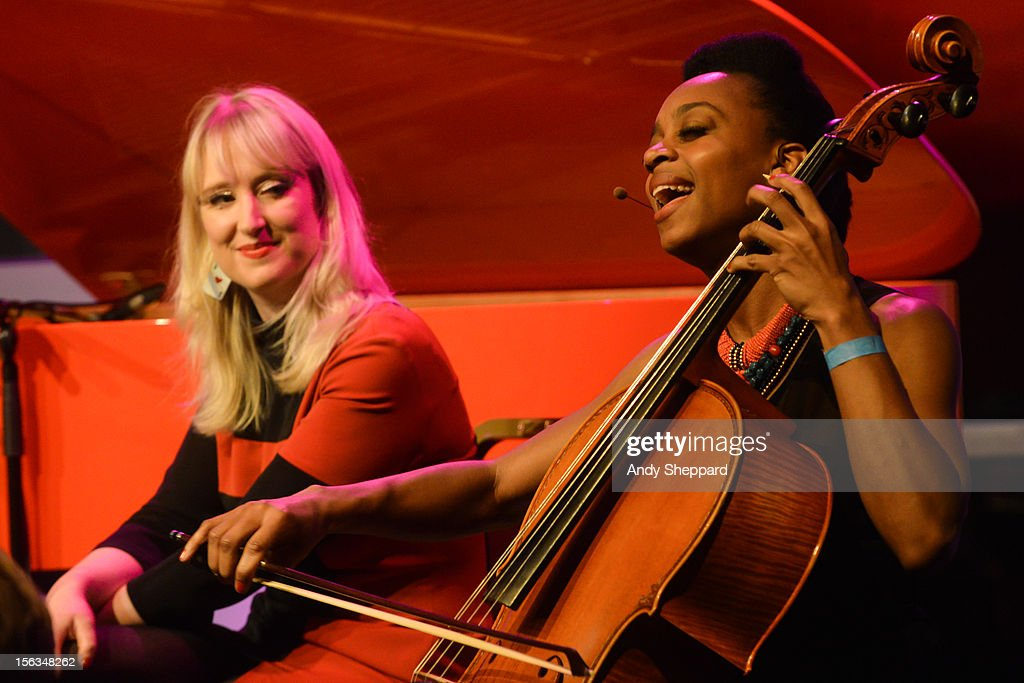 Gwyneth Herbert and Ayanna perform at the Elgar Room, Royal Albert Hall during the London Jazz Festival 2012 on November 13, 2012 in London, United Kingdom.