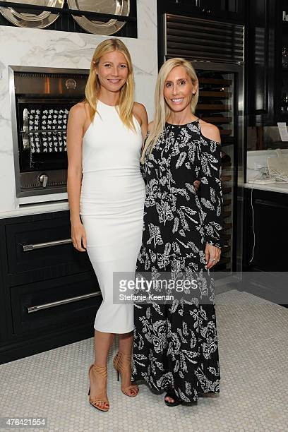Gwyneth Paltrow and Alexandra Von Furstenberg attend Gwyneth Paltrow Celebrates Windsor Smith's Homefront on June 8 2015 in Los Angeles California