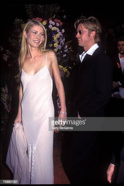 Gwyneth Paltrow and Brad Pitt