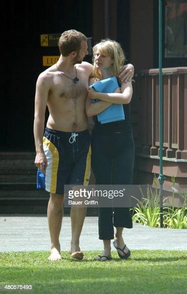 Gwyneth Paltrow and Chris Martin are seen on May 01 2003 in Kauai Hawaii