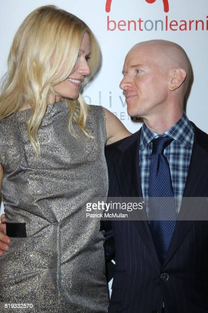 Gwyneth Paltrow and Eddie Stern attend 2nd Annual BENT ON LEARNING Benefit Spnsored by alice oliva at Puck Building on April 28 2010 in New York City
