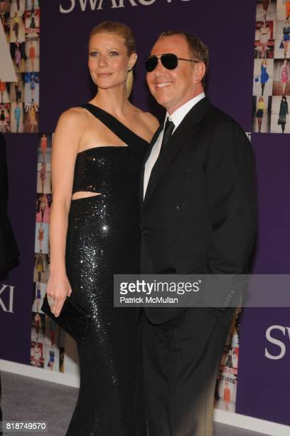 Gwyneth Paltrow and Michael Kors attend 2010 CFDA Awards Red Carpet at Alice Tully Hall at Lincoln Center on June 7 2010 in New York City
