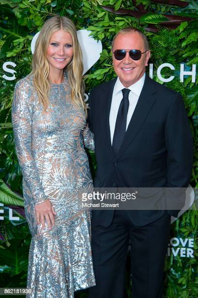 Gwyneth Paltrow and Michael Kors attend the 11th Annual God's Love We Deliver Golden Heart Awards at Spring Studios on October 16 2017 in New York...