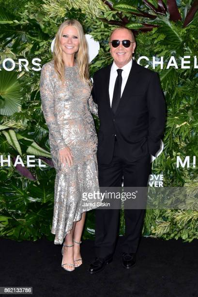 Gwyneth Paltrow and Michael Kors attend The 11th Annual Golden Heart Awards benefiting God's Love We Deliver at Spring Studios on October 16 2017 in...