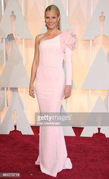 Gwyneth Paltrow arrives at the 87th Annual Academy Awards at Hollywood Highland Center on February 22 2015 in Los Angeles California
