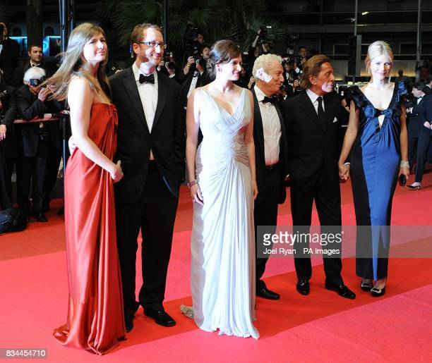 Gwyneth Paltrow arrives with the cast for the screening of 'Two Lovers' during the 61st Cannes Film Festival in Cannes France