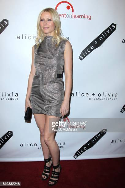 Gwyneth Paltrow attends 2nd Annual BENT ON LEARNING Benefit Spnsored by alice oliva at Puck Building on April 28 2010 in New York City