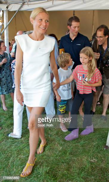 Gwyneth Paltrow attends 9th Annual Authors Night at The East Hampton Library on August 10 2013 in East Hampton New York