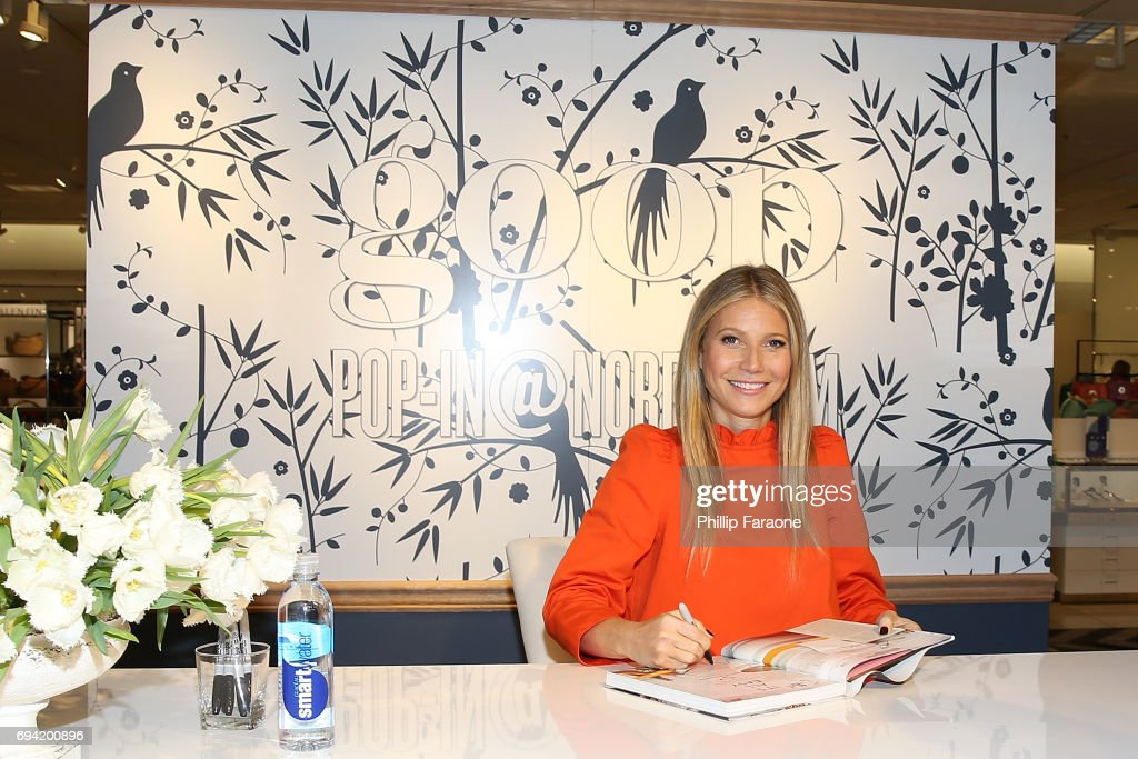 Gwyneth Paltrow attends book signing at goop-in@Nordstrom at The Grove on June 8, 2017 in Los Angeles, California.