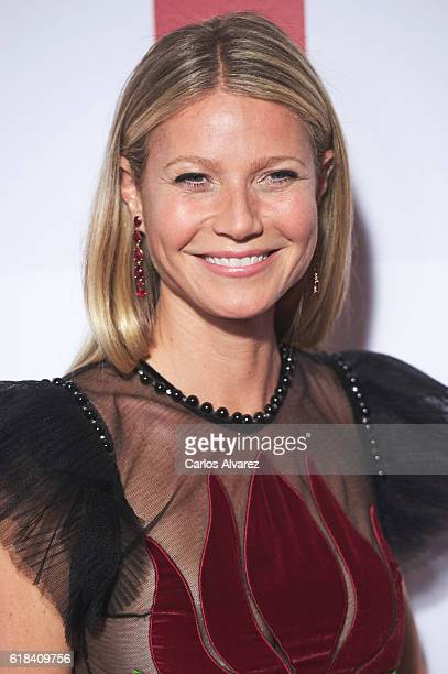 Gwyneth Paltrow attends ELLE Magazine 30th anniversary party at Circulo de Bellas Artes Club on October 26 2016 in Madrid Spain