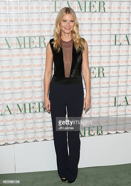 Gwyneth Paltrow attends La Mer Celebrates 50 Years of an Icon at Siren Studios on October 13 2015 in Hollywood California