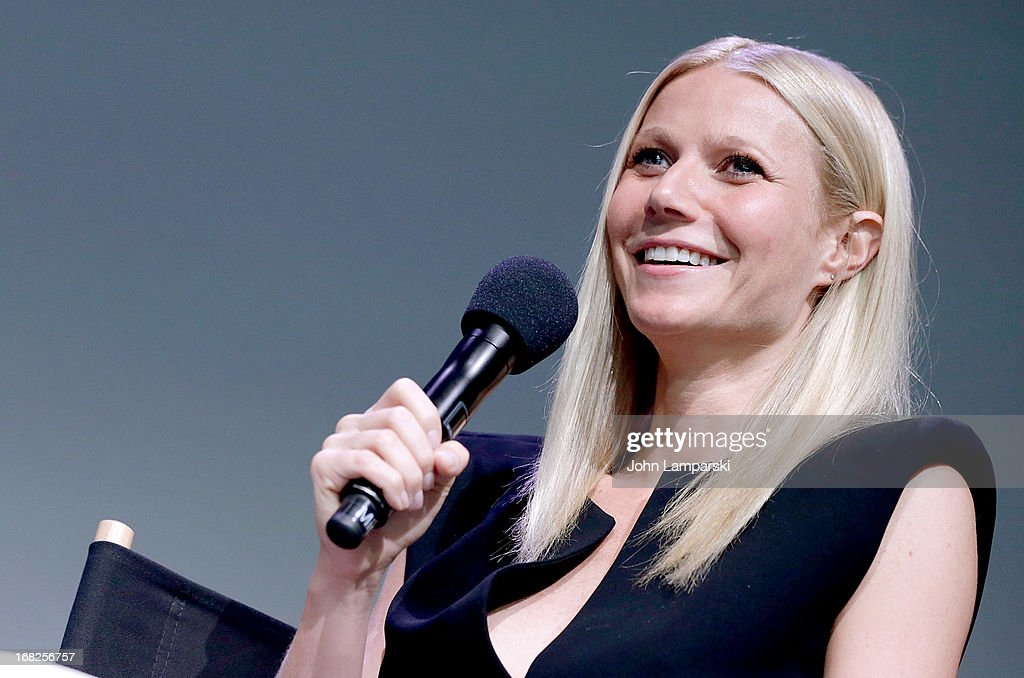 <a gi-track='captionPersonalityLinkClicked' href=/galleries/search?phrase=Gwyneth+Paltrow&family=editorial&specificpeople=171431 ng-click='$event.stopPropagation()'>Gwyneth Paltrow</a> attends Meet The Developer at the Apple Store Soho on May 7, 2013 in New York City.