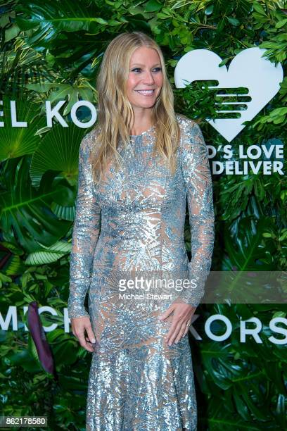 Gwyneth Paltrow attends the 11th Annual God's Love We Deliver Golden Heart Awards at Spring Studios on October 16 2017 in New York City