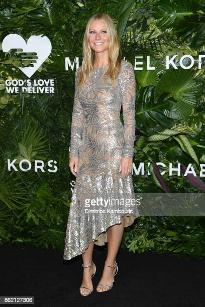 Gwyneth Paltrow attends the 11th Annual Golden Heart Awards benefiting God's Love We Deliver on October 16 2017 in New York City
