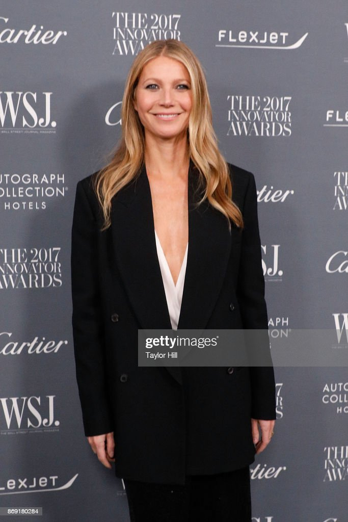 Gwyneth Paltrow attends the 2017 WSJ Magazine Innovator Awards at Museum of Modern Art on November 1, 2017 in New York City.