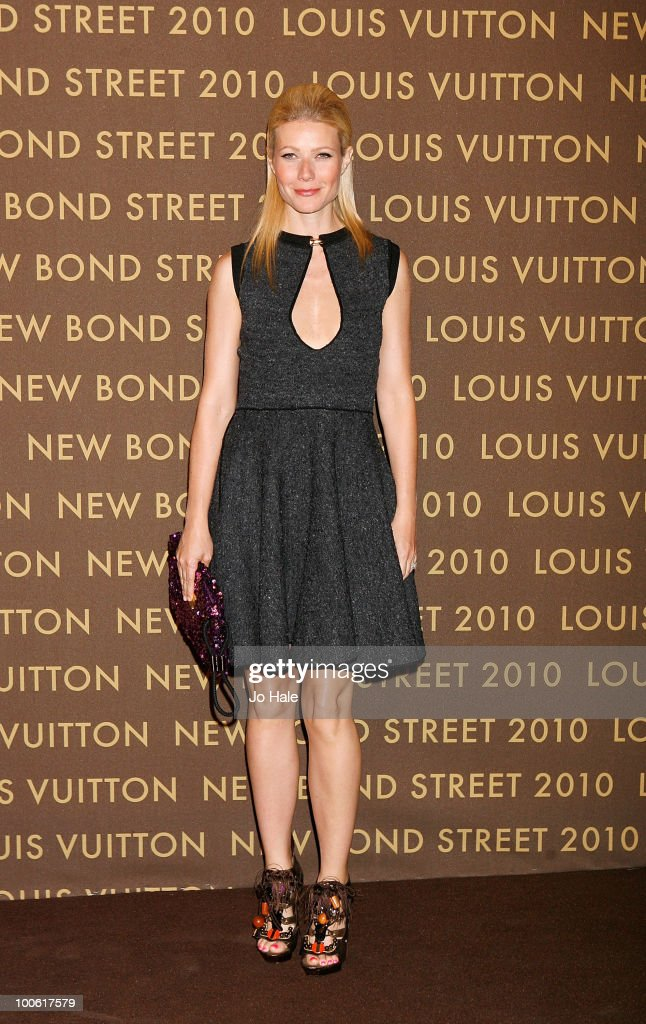 Gwyneth Paltrow attends the after party for the launch of the Louis Vuitton Bond Street Maison on May 25, 2010 in London, England.